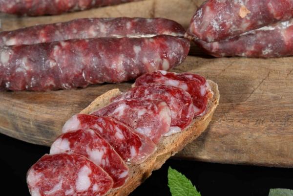 Salsiccia di Calabria DOP bianca