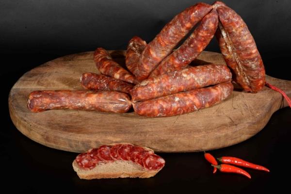 Salsiccia di Calabria DOP piccante