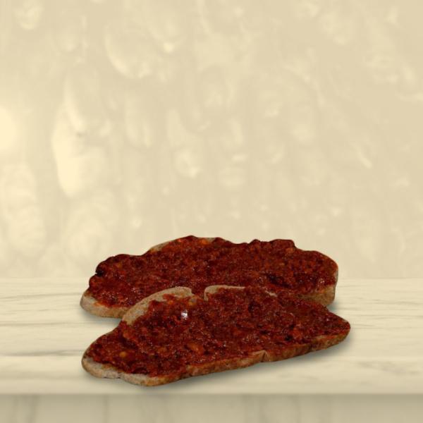 Nduja di Calabria spalmata sul pane