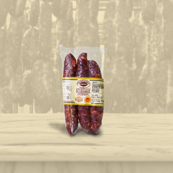 Salsiccia di Calabria Dop confezione